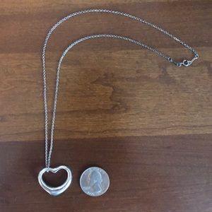 Tiffany Elsa Peretti® Open Heart Pendant